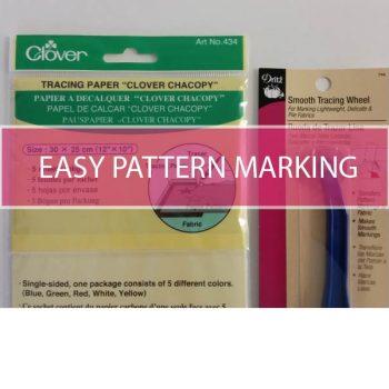 easy pattern markings