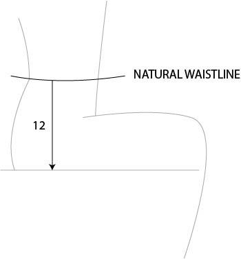 size chart crotch depth