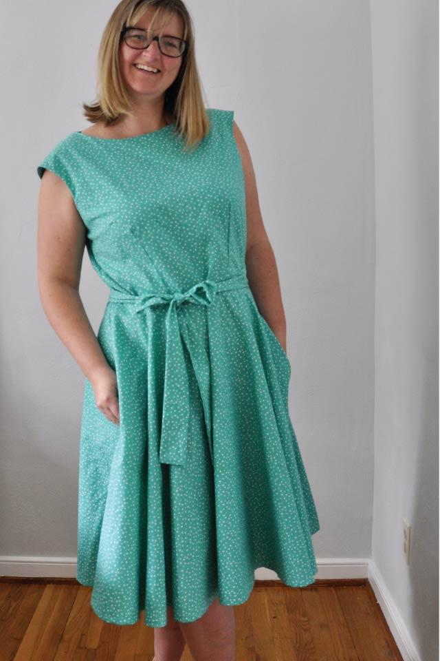 Kate Vintage Tea Dress Sewing Pattern (PDF) - Designer Stitch - photo #23