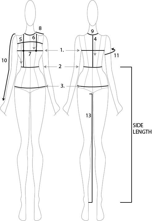 size chart measure
