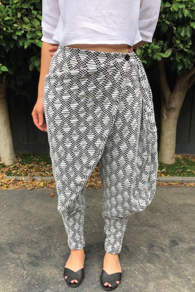 Indu Wrap Pants Sewing Pattern Pdf Designer Stitch