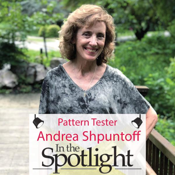 Pattern Tester Spotlight Andrea Shpuntoff Designer Stitch